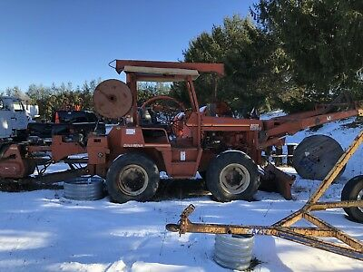 2000 Ditch Witch 8020T 8020 Turbo Telecommunications Riding Trencher