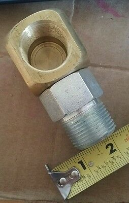 """T&S ~ A-6F ~ 1-1/4"""" ~ Swivelink Gas Application Connector"""