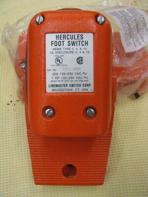 Linemaster 531-SWN Hercules Foot Switch
