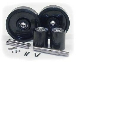Toyota HPT25 Pallet Jack Complete Wheel Kit (Includes All Parts Shown)