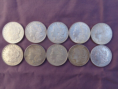 Morgan Silver Dollar Lot