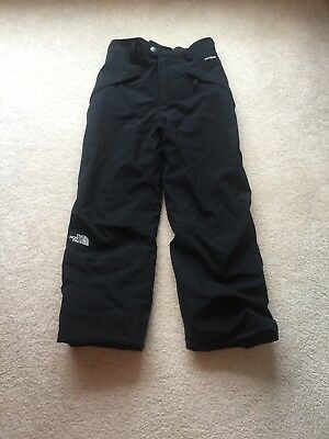 Boy's THE NORTH FACE HyVent Black Cargo Ski Snowboarding Pants Youth M 10/12