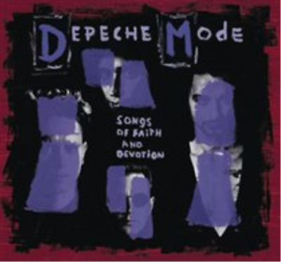Depeche Mode-Songs of Faith and Devotion  (US IMPORT)  CD with DVD NEW