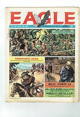 Eagle Comic  From 1962 Number15