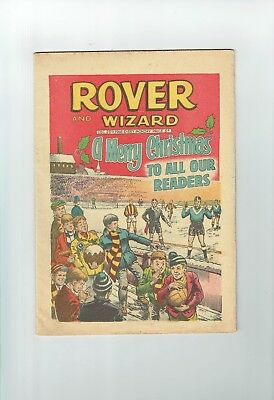 The Rover And Wizard  Christmas Comic 1968