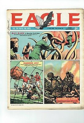 Eagle Comic  From 1962 Number 22