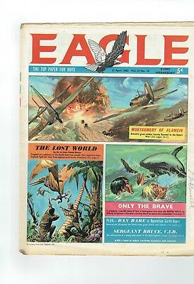 Eagle Comic  From 1962 Number 16