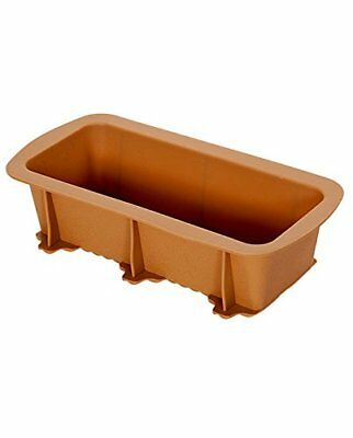 New Brown Silicone Loaf Pan Nonstick Baking Mold for Cake/Bread by Elbee