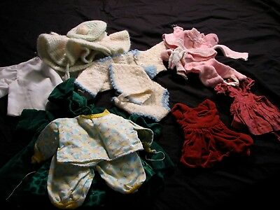 Collection of Vintage Doll Clothes Mixed Sizes Stockings Leggings Socks