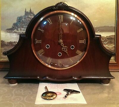 """Smiths Enfield: The """"Winchester"""" Westminster / Whittington Chiming Mantel Clock"""