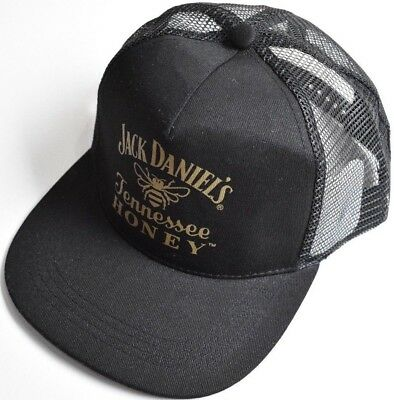 Official Genuine Jack Daniels Collectable Adjustable Snapback Cap - Brand New