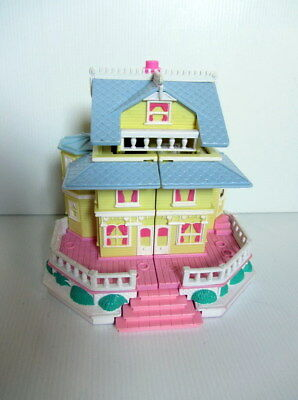 Bluebird POLLY POCKET Yellow Pop-Up Party Clubhouse (1995) - No Figures