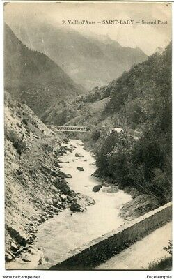 CPA-Carte postale- France -Vallée d'Aure - Saint Lary - Second Pont- 1934