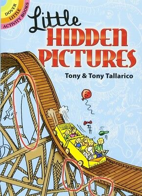 Little Hidden Pictures (Dover Little Activity Books) free shipping ORIGINAL