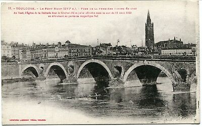 CPA-Carte postale- FRANCE - TOULOUSE - Le Pont Neuf (CPV 447)