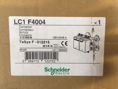 New Telemecanique 500Amp Contactor LC1 F4004 TeSys F -012215 LC1F4004