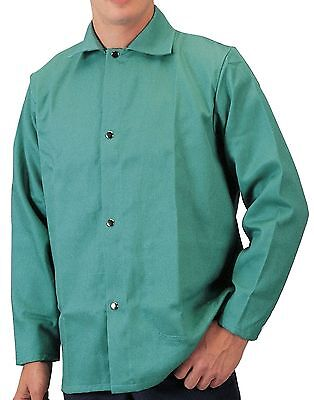 Tillman 6230 Large Welding Jacket  Flame Retardant  Lightweight Cotton