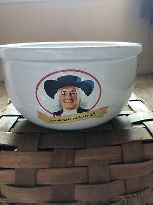2005 QUAKER OATS Something To Smile About Ceramic Cereal Bowl Promo Advertising