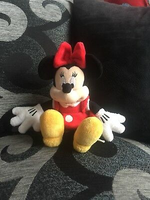 Minnie Mouse Plush Toy 9""