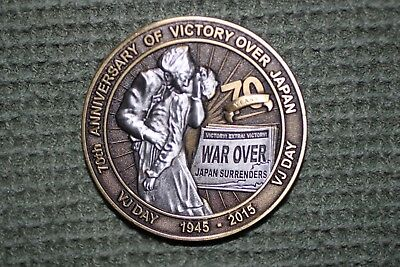70Th Anniversary Victory Over Japan Commemorative Medal