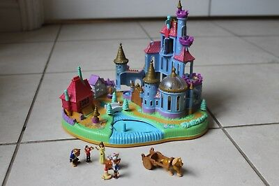 Vintage Disney Polly Pocket Beauty and the Beast Castle