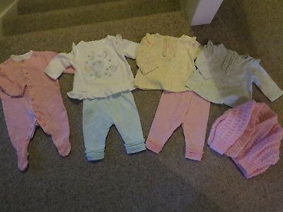 Great bundle of clothes for newborn baby girl from Mini Club +