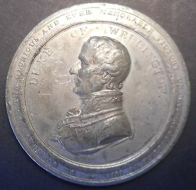 Waterloo 1815  Duke of Wellington / G L Von Blucher Medal  NICE