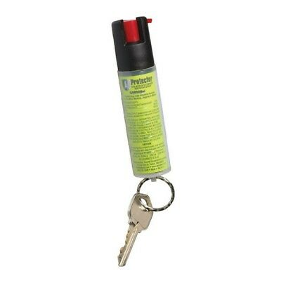 SABRE RED 3/4oz Protector Dog Deterrent Pepper Spray With Key Ring