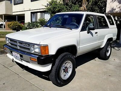 1987 Toyota 4Runner SR5 VEHICLE HAS BEEN SOLD LOCALLY! NO LONGER FOR SALE!