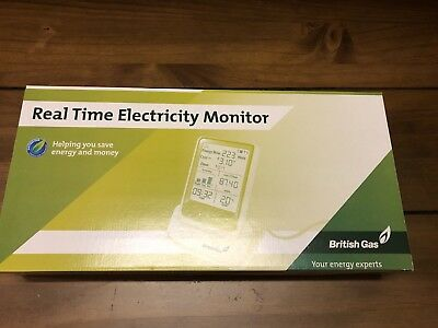 British Gas Real Time Electricity Monitor - New