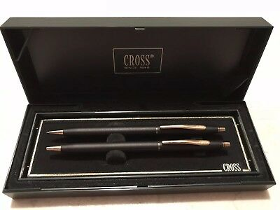 Cross Pen and Pencil Set 250105 with Case