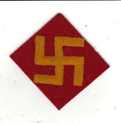 1930's / WW2 Rare and real  US Army 45th Division patch , , a classic PreWW2