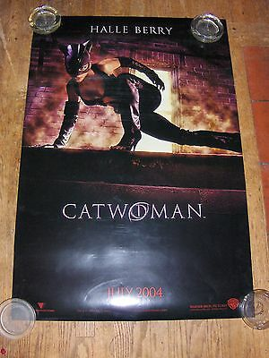 Catwoman Original Advance 2S 1Sh Movie Poster 2004 Rolled