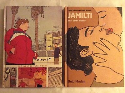 EXIT WOUNDS & JAMILTI AND OTHER STORIES HC SET by Ruth Modan