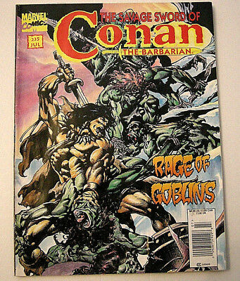 The Savage Sword of Conan the Barbarian  # 235  Last ISSUE