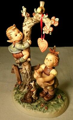"Hummel Figurine - ""HERE'S MY HEART"" #766 Century Collection, No Box"
