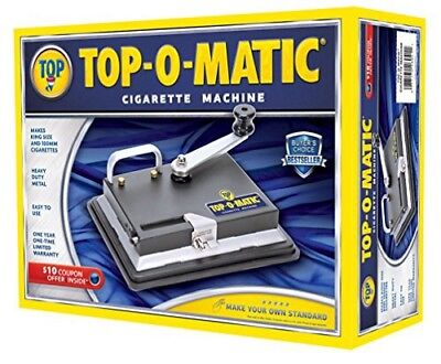 NEW vintage Top O Matic Cigarette Rolling Machine NEVER USED- 100MM cigarettes