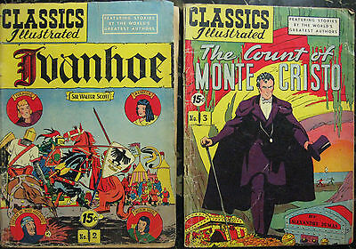 Classics Illustrated Lot# 2,3,4,6,11,17,23,24,27,40,42,46,48,49,67,75,76,84,90,+