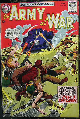 OUR ARMY AT WAR# 143 Jun 1964 Sgt Rock Joe Kubert Cov/Art Silver Age: 7.0 FN-VF