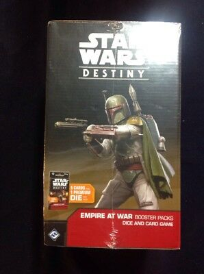Star Wars Destiny - Empire At War Booster Box SEALED!! Contains 36 Packs