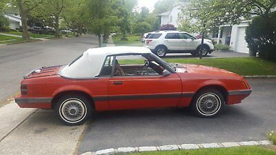 1986 Ford Mustang LX 1986 Ford Mustang LX Convertible