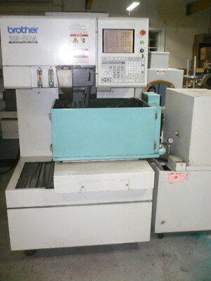 Brother HS50A wire edm, 5-axis, submerged, under power