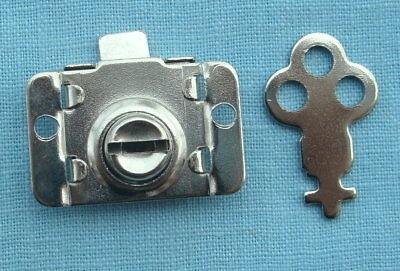 Trade Stimulator  toy bank or vending machine lever lock  3/4 inches square
