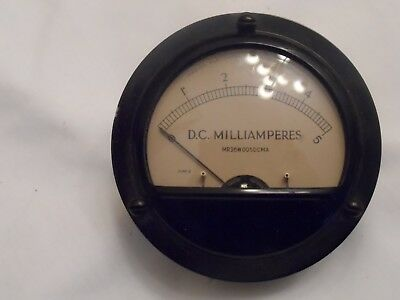Marion D.C. Milliampere Guage with Box
