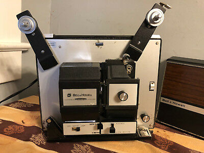 Bell & Howell Projector  Dual 8 8Mm And Super 8Mm Movie Projector