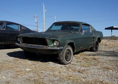 1967 Ford Mustang GT 1967 Mustang GT Fastback Project 390GT S-Code 4-Speed Dark Moss Green