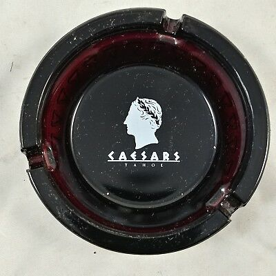Vintage Caesars Palace Casino & Hotel Tahoe Resort Ashtray 4 1/4""