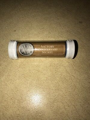 2005 Canada Victory Anniversary Nickel $2 Roll Sealed Royal Canadian Mint 5c NR+