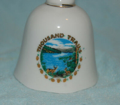 Porcelain Bell Thousand Trails, Collectible
