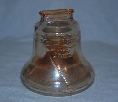 Glass Liberty Bell Bank, Collectible